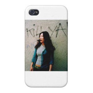 Caso asiático de Iphone 4 de la foto del poder de  iPhone 4 Carcasas