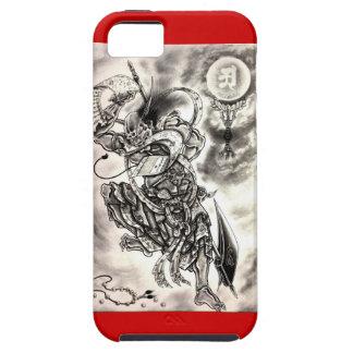 Caso asiático de Iphone 5 del guerrero del demonio iPhone 5 Funda