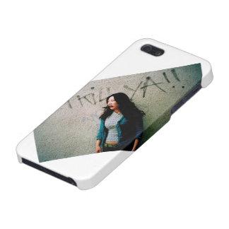 Caso asiático de Iphone 5 del poder de la mujer iPhone 5 Funda