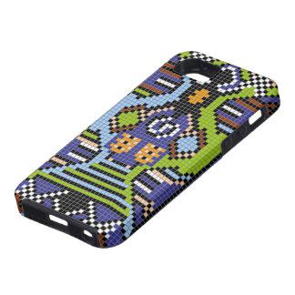 Caso áspero del lagarto moldeado iPhone 5 carcasas