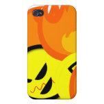 Caso asustadizo de Halloween Iphone de la imagen iPhone 4 Carcasa