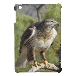 Caso atado rojo del iPad del halcón mini