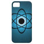 Caso atómico Nerdy del iPhone 5 de BT, azul iPhone 5 Cobertura