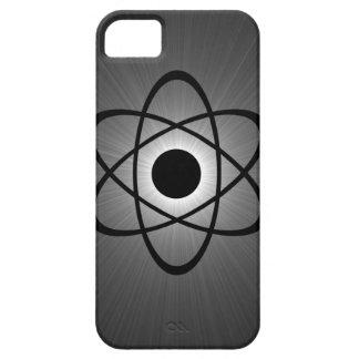 Caso atómico Nerdy del iPhone 5 de BT gris iPhone 5 Funda
