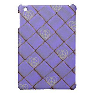 Caso atractivo del iPad de la lila de la estrella