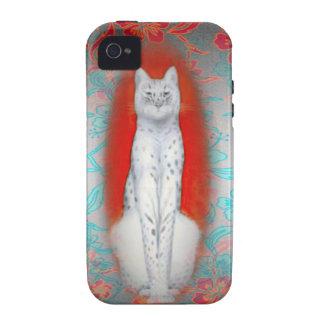 Caso atractivo del iPhone 4 del gato iPhone 4/4S Carcasa