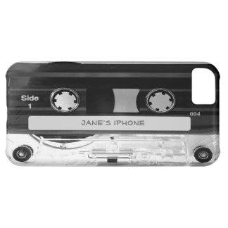 Caso audio del iPhone 5C de la cinta de casete de  Funda Para iPhone 5C