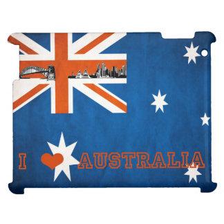 Caso australiano del iPad de la bandera