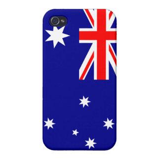 Caso australiano del iPhone de la bandera iPhone 4/4S Carcasa