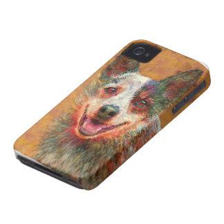 caso australiano del iphone del perro del ganado Case-Mate iPhone 4 funda