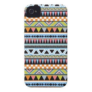 Caso azteca brillante fresco del iPhone 4 del mode Case-Mate iPhone 4 Carcasa