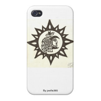 Caso azteca de Iphone iPhone 4/4S Carcasa