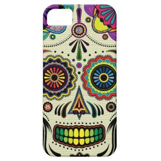 Caso azteca del arte iPhone5 del cráneo del azúcar iPhone 5 Cárcasas