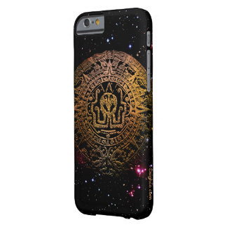 Caso azteca del iPhone 6 de Cthulhu Funda Barely There iPhone 6
