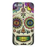 Caso azteca del iPhone 6 del arte del cráneo del