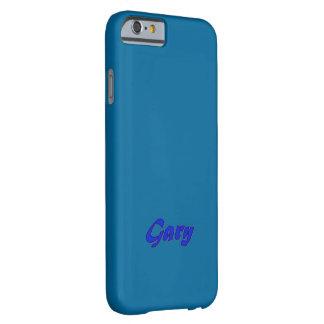 Caso azul marino del iPhone 6 de Gary Funda Para iPhone 6 Barely There