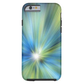Caso azulverde del iPhone 6 de la EXPLOSIÓN Funda Para iPhone 6 Tough