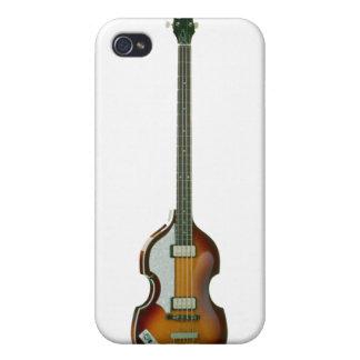 Caso bajo del iPhone del violín iPhone 4/4S Fundas