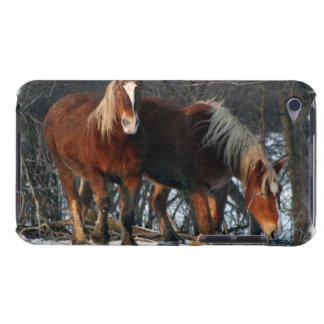 Caso belga de iTouch de los caballos de proyecto iPod Touch Carcasas