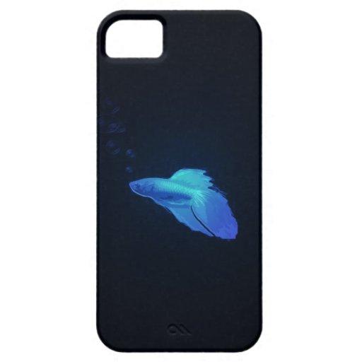 Caso beta de los pescados iPhone 5 Case-Mate cobertura