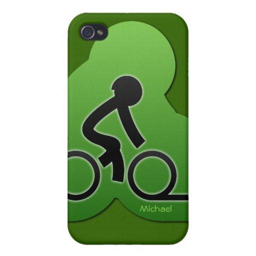 ** Caso biking del iPhone 4 de la calle de la bici iPhone 4 Cárcasa