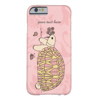 Caso birmano adaptable del iPhone de la tortuga de Funda Barely There iPhone 6