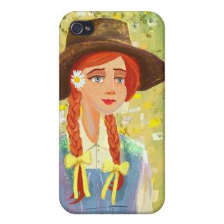 caso bonito del iPhone 4 o del iPhone 4S del chica iPhone 4/4S Carcasa