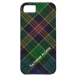 Caso bonito del iPhone 5 de la tela escocesa de iPhone 5 Funda