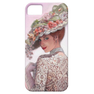 Caso bonito del iPhone 5 del chica de la moda del iPhone 5 Carcasas