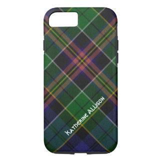 Caso bonito del iPhone 7 de la tela escocesa de Funda iPhone 7