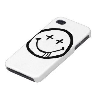 Caso borracho de Iphone 4 de la cara iPhone 4 Carcasa