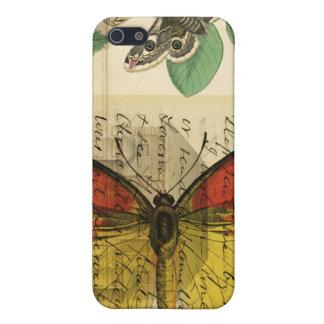 Caso botánico del iphone 4 de las Ephemeras iPhone 5 Fundas