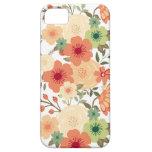 Caso botánico del iPhone 5/5S de la flor iPhone 5 Cárcasas