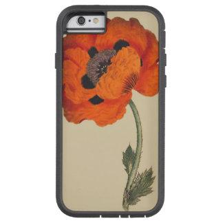 Caso botánico del iPhone 6 de la flor Funda De iPhone 6 Tough Xtreme