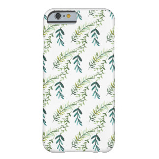 Caso botánico del iPhone del follaje Funda Barely There iPhone 6