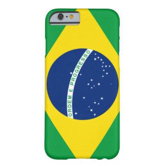 Caso brasileño del iPhone 6 de la bandera Funda Para iPhone 6 Barely There