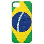 Caso brasileño del iPhone de la bandera iPhone 5 Cobertura
