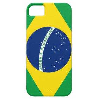 Caso brasileño del iPhone de la bandera iPhone 5 Fundas