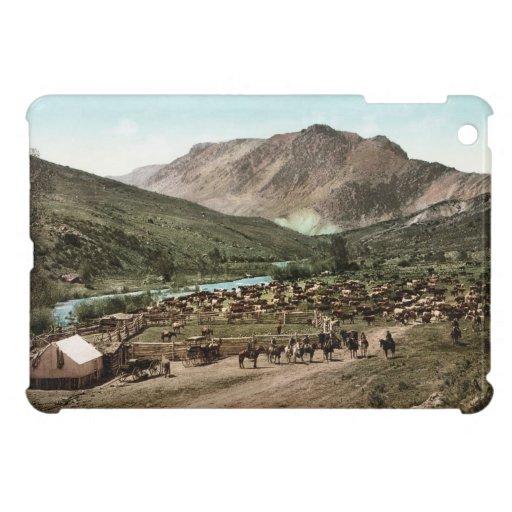 Caso brillante 1898 del final del iPad del rodeo d iPad Mini Cárcasa