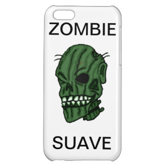 Caso brillante de Iphone 5 suaves del zombi