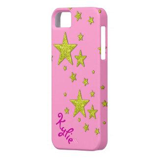 caso brillante de la cubierta del iphone 5 del oro iPhone 5 protector