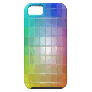 Caso brillante de los colores iPhone 5 funda
