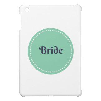 Caso brillante del ipad de la novia mini