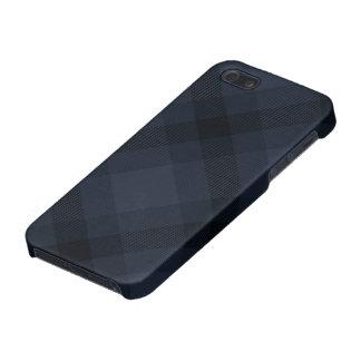 Caso brillante del iPhone 5 de Argyle del tartán d iPhone 5 Carcasas
