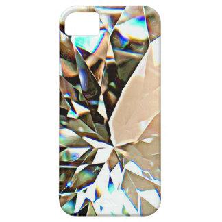 Caso brillante del iPhone 5 del diamante/caso del iPhone 5 Funda