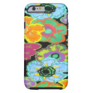 Caso brillante del iPhone 6 del diseño floral de Funda Para iPhone 6 Tough