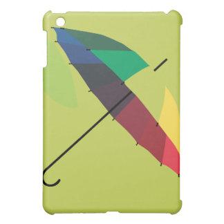Caso brillante enrrollado retro del iPad del parag