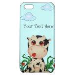 Caso brillante listo del iPhone 5 lindos de la vac