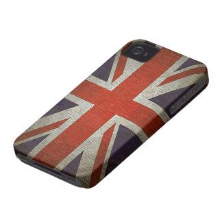 Caso británico BRITÁNICO del iPhone 4/4S de la ide Case-Mate iPhone 4 Protector