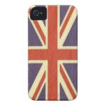 Caso británico clásico del iPhone 4 iPhone 4 Case-Mate Cobertura